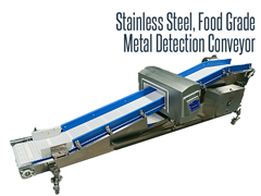 Picture for Food Grade Metal Detector Conveyor