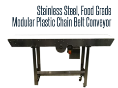 Picture for Food Grade Stainless Steel Modular Plastic Chain Belt Conveyor