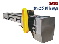 The Rapat Series SCR Belt Conveyor is a computer designed conveyor, built for efficiency and durability with unmatched features and common sense engineering.