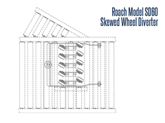 Roach Model SD 60 Top View Schematic