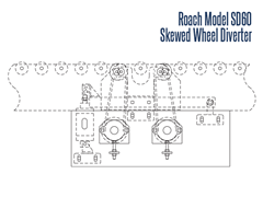 Roach Model SD 60 Side View Schematic