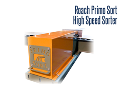 The Primo High Speed Sorter is  versatile and can sort a wide range of product sizes and weights to multiple divert lanes.
