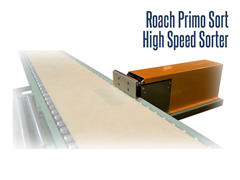 The Primo High Speed Sorter is an ideal solution for separating products from in-feed conveyor lines to shipping lanes, palletizing operations, packing stations and other sortation applications.