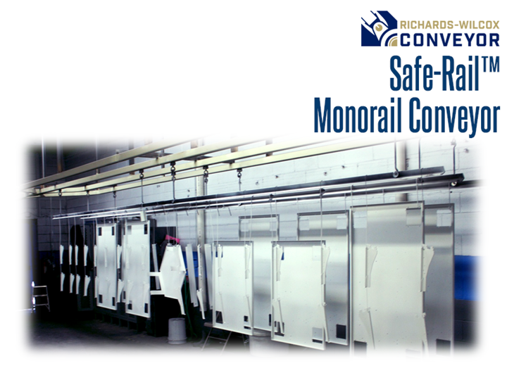 The Safe-Rail™ Monorail Conveyor is engineered to evolve your facility.