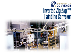 Picture for Paintline™ Inverted Zig-Zag™ Monorail Conveyor