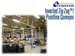 The Inverted Zig-Zag Conveyor increases production. Less downtime, less maintenance, cleaner operation, and lower conveyor costs all make your operation more productive.