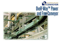 OveR-Way frees up valuable floor space for more valueadded operations by organizing product flow and efficiently utilizing available space overhead.