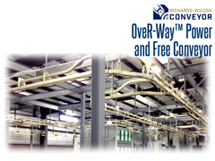 OveR-Way optimizes production by ensuring that the right parts arrive at the correct operation in a continuous flow, especially when rates of production differ between operations.
