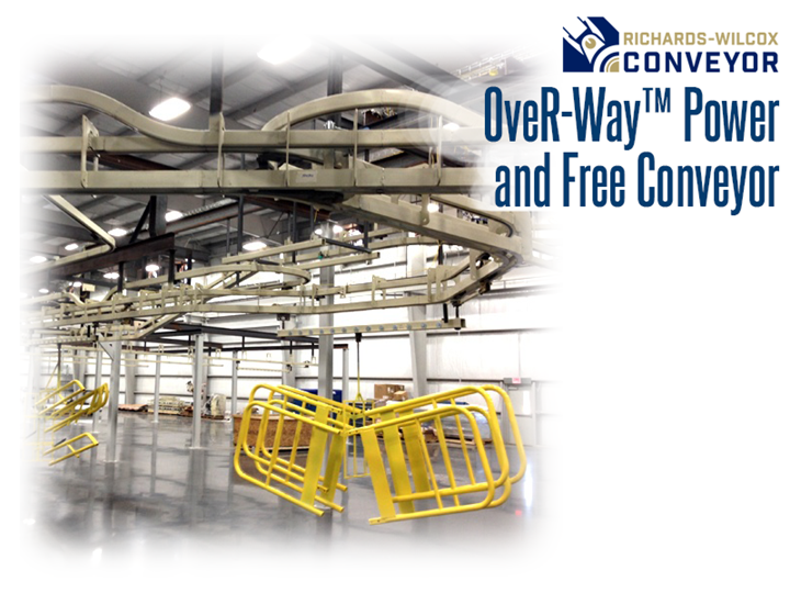 OveR-Way™ is the ideal high-capacity solution for transporting and storing work-in-process.