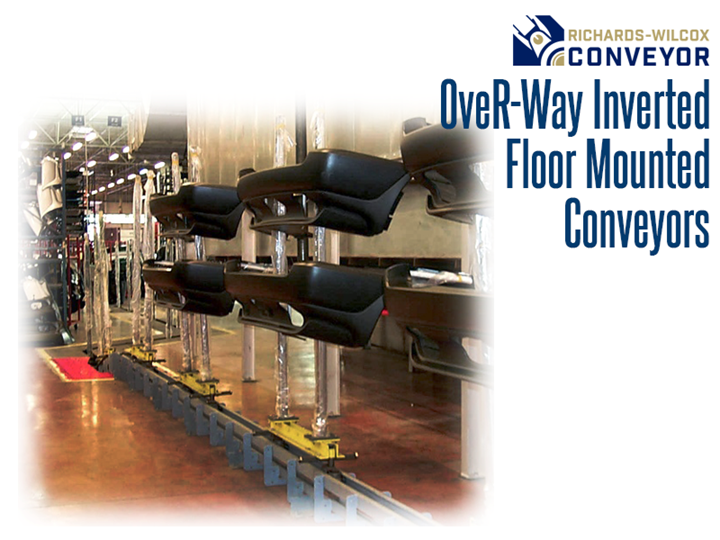 OveR-Way™ Inverted Power & Free Conveyors brings together power and capability with the ergonomic flexibility of floor mounted systems.