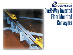 The OveR-Way™ Inverted Power & Free Conveyor brings together power and capability with the ergonomic flexibility of floor-mounted systems.