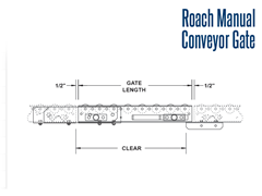 Roach Manual Conveyor Gate Schematic