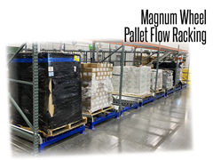 Magnum (Poly) Wheel Pallet Flow Racking