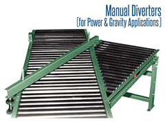 Picture for Roach Manual Diverters for Power and Gravity Applications