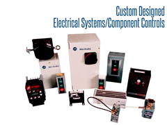 Most control packages feature Allen Bradley brand controls.