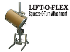 The LIFT-O-FLEX™ is a mobile roll handling solution that is designed to lift and manipulate heavy rolls.