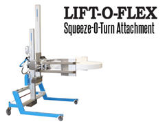 The Squeeze-O-Turn™ is easy to configure and adapts to different loads.