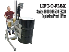 The LIFT-O-FLEX™ Series 19000/19500 EEX D, is an Explosion Proof Lifter