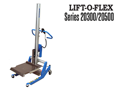 LIFT-O-FLEX™ and its tooling attachments are available in a powder coated finish, anodized aluminum or stainless steel construction. Wash down versions are available.