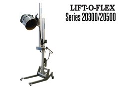 LIFT-O-FLEX™ 20300/20500 feature an electronic power pack and detachable remote controller