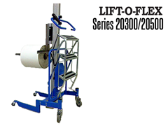 LIFT-O-FLEX™ 20300/20500 shown with probe  and archive lifter attachments
