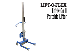The Lift-N-Go™ can lift and turn, move, pour, position and load your coil, spool, drum, bags, box or tote