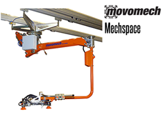 Movomech™ Mechspace Tooling/Attachment. Contact a Thomas Conveyor ergonomic engineer to find out which end effectors would provide the optimal solution to your ergonomic lifting application.