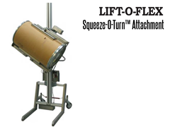 Squeeze-O-Turn™ allows the operator to lift and turn items by grasping the outside of the product.