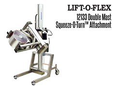 Squeeze-O-Turn™'s also comes in a double mast attachment