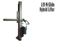 The Lift-N-Glide™ design is ideal for a variety of product handling needs by providing the operator with increased mobility and lifting functionality within a fixed area.