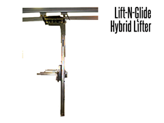 The Lift-N-Glide™ has a lifting capacity of 500 lbs.
