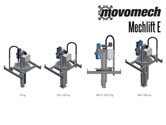 The Mechlift E has a variety of models, customizable to your particular applications