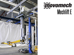 Electric Mechlift E is a rail based ergonomic lift system