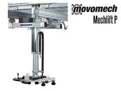 Mechlift Pro™  P is a versatile pneumatic moment-absorbing industrial mani­pu­lator suitable for many types of lifting for loads of up to 330 lbs.