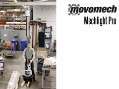The Mechlight Pro has a variety of end effectors/tooling, offering quick and easy interchange for multiple capabilities