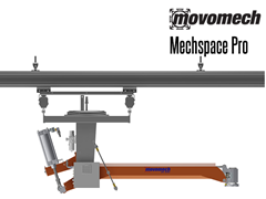 The Mechspace™ Pro is a pneumatic, momentum absorbing manipulator that is extremely easy to manoeuver that gives ergonomic freedom of movement within a large working area.