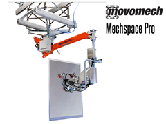 The Mechspace™ Pro is a great product when the working reach is of high importance, such as when the operator is working under a protruding roof, inside a vehicle, or in a working area with restricted accessibility