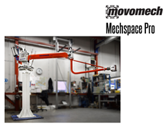 The pillar Mechspace Pro™ is available in two models: suspended or pillar mounted