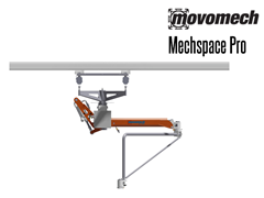 The Mechspace Pro™ is ideal for situations where reach is limited