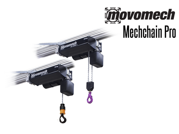 Mechchain Pro II™ is a very easy-to-use and ergonomic lifting device for professional lifting