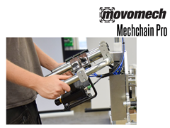 The Mechchain  has a standard lift stroke is 10' but can be delivered with up to a lift stroke of 23'.
