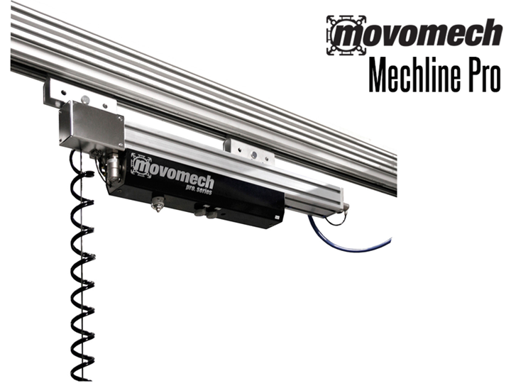 The Mechline Pro™  is an easily maneuverable line balancer for loads up to 110 pounds.