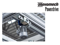 The Movomech Powerdrive™ can be used as a brake system through controls on the joystick handle