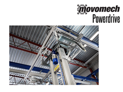 The Movomech Powerdrive™ can be used as a drive unit in the X and Y axes