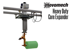 Movomech Heavy Duty Core Expander.  Contact a Thomas Conveyor ergonomic engineering specialist to find out which end effectors would provide the optimal solution to your ergonomic lifting application.