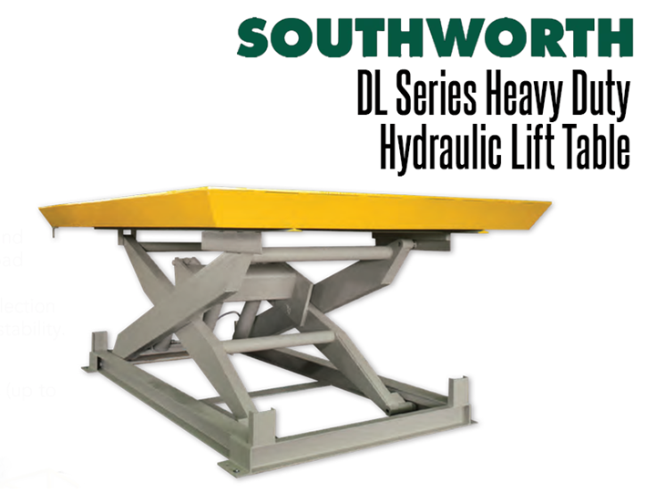DL Series Heavy-Duty Hydraulic  Lift Tables are ideal for heavy duty cargo handling and lifting