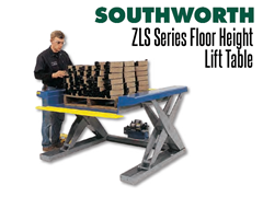 The ZLS Series Floor Height Lift Table provides high quality floor height lift tables.