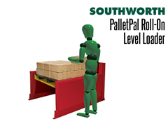 The operator can adjust the height of the pallet to allow loading or unloading at the most convenient working height with a minimum of lifting.