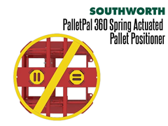 The PalletPal 360 offers a full 360° access around the unit, no obstructions for operators!