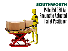 The PalletPal 360 Air is best used where loads vary and are changed frequently